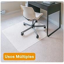 estera silla oficina alfombra suelo alfombrado proteccción silla ruedas escritorio pp plástico