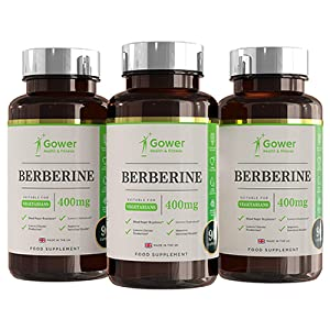 Berberina 400mg 90 Capsulas Vegetarianas - con Extracto de Pimienta Negra - Soporte Inmunitario Natural - Fabricado en RU en Instalaciones con ...