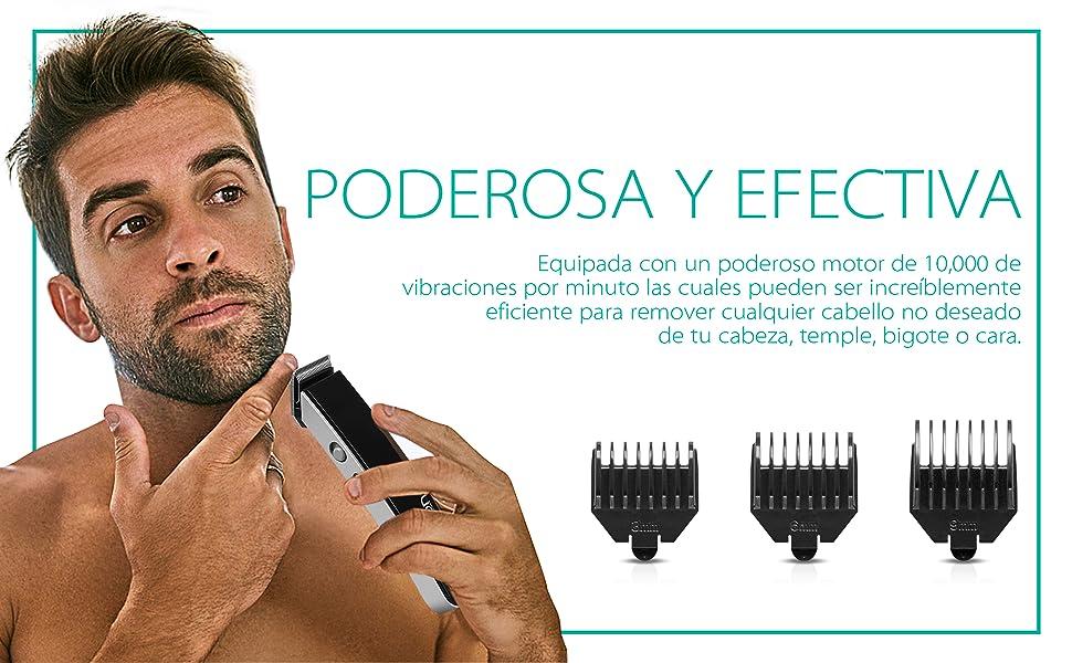 VOYOR Barbero Hombre Electrico Recortadora Barba Profesional ...