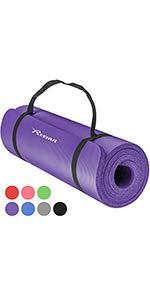 REEHUT Colchonetas de Pilates, Almohadilla de Yoga para ...