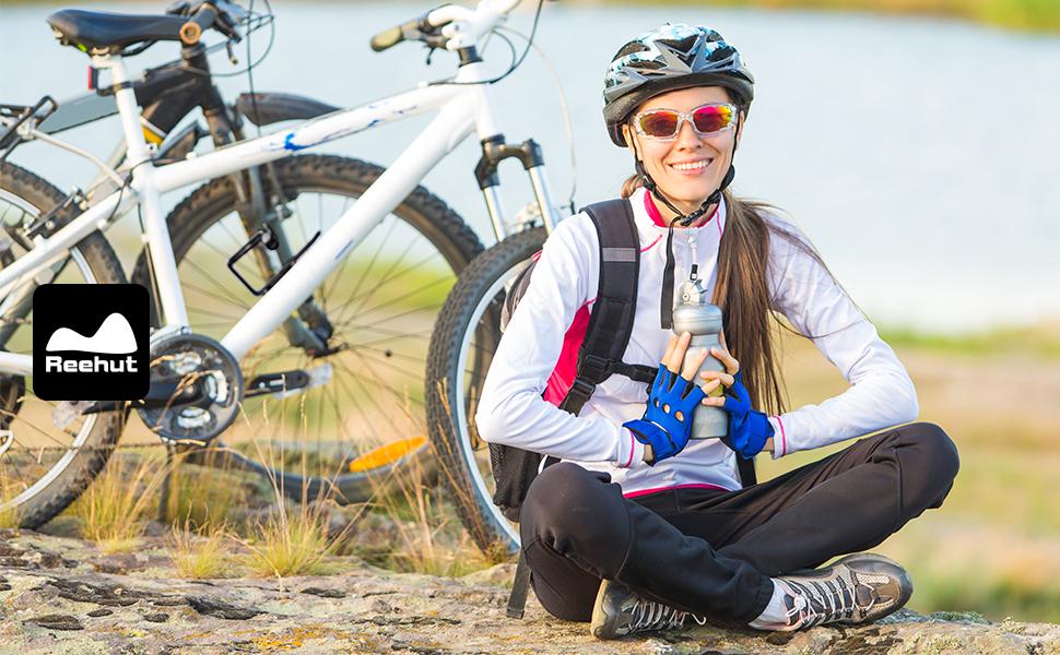 REEHUT Portabidón para Bicicleta, Portabotellas de Bici Universal ...