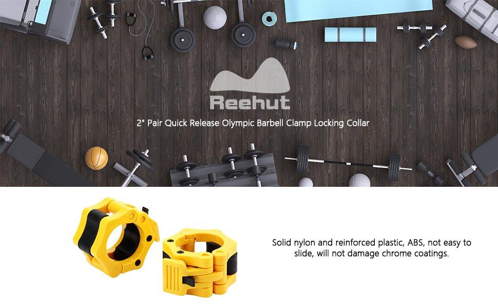 Beneficios del uso de los collares de barra olímpicos de Reehut