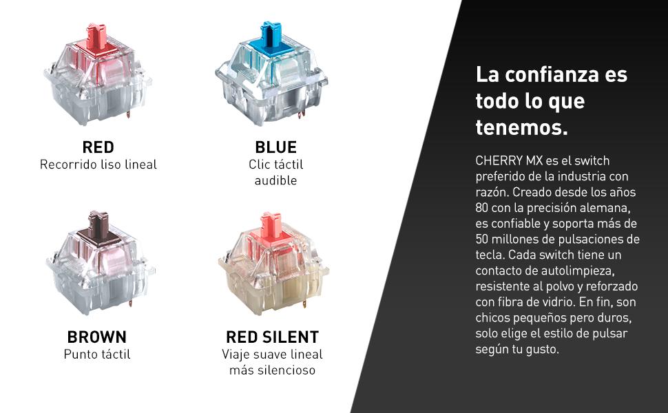 tenkeyless Fnatic miniSTREAK Teclado mec/ánico compacto para juegos Esports Disposici/ón-idiomas n/órdicos interruptores Cherry MX Silent azul, iluminaci/ón RGB multicolor, reposamu/ñecas ergon/ómico
