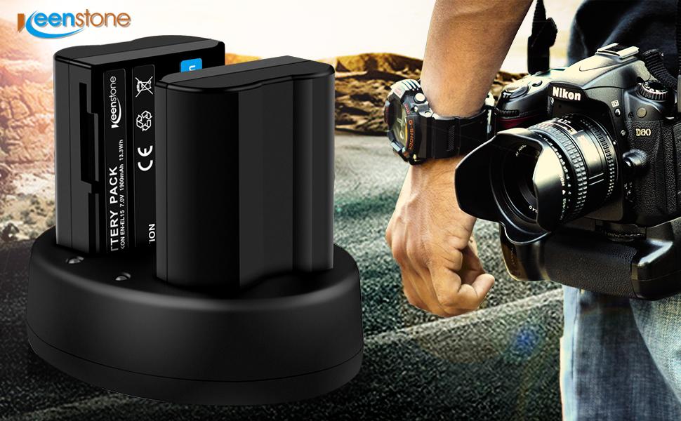 Baterías Recargables de Reemplazo para Nikon EN-EL15 EL15A ...