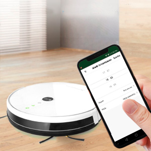 Phoenix Technologies Cleanbot360 - Robot Aspirador 4 en 1, Auto ...