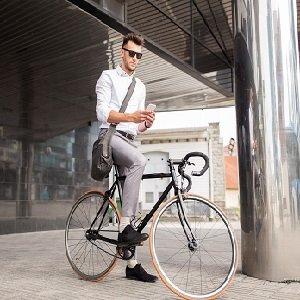 Una gran mejora sobre los duros asientos estándar de bicicletas para ir al trabajo.
