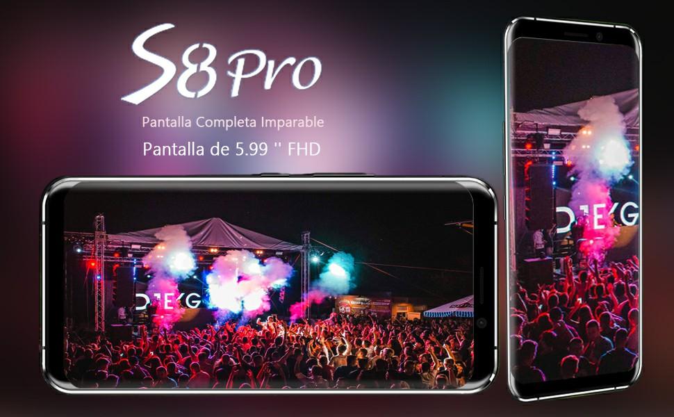 Leagoo S8 Pro - Smartphone de 2.6GHz Octa Core (Dual SIM 4G, WiFi ...