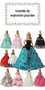5 mini vestidos 5 zapatos · 5 vestidos/ropa 5 zapatos · 5 vestidos elegante · 5 Fashionista Trajes de Ropa · 5 fashionista ken ropa
