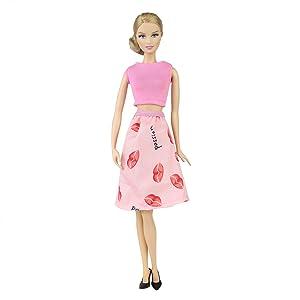 Este vestido le quedará bien: alrededor de 11.5 pulgadas (28-30 cm) Barbie Doll, Vintage Barbie Doll, Silkstone Barbie Doll, Momoko Doll, Blythe Doll, ...