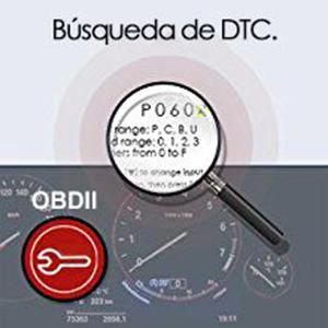 AQV OBD II Coche Diagn/óstico Herramienta OBD Esc/áner Lector de C/ódigo OM123 Lea y Aclare el C/ódigo Aver/ía Ligera Exploraci/ón Luz del Motor para Todos los Veh/ículos Despu/és de OBD2 Diagn/ósticos