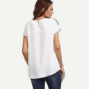 Modelos de blusas para damas ala moda