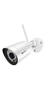 Telecamera di sicurezza Wireless esterna Dericam, telecamera ...