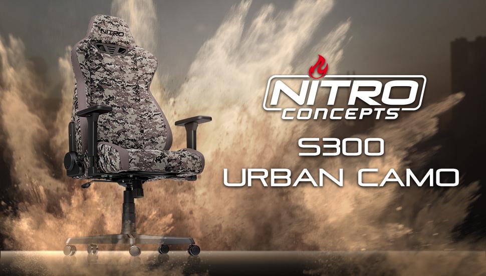 Nitro Concepts presenta la serie S300, una impresionante silla de juego que combina una ergonomía óptima con un aspecto de carreras extravagantes en colores ...
