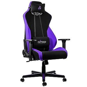 Los detalles más importantes de la silla de juego Nitro Concept S300