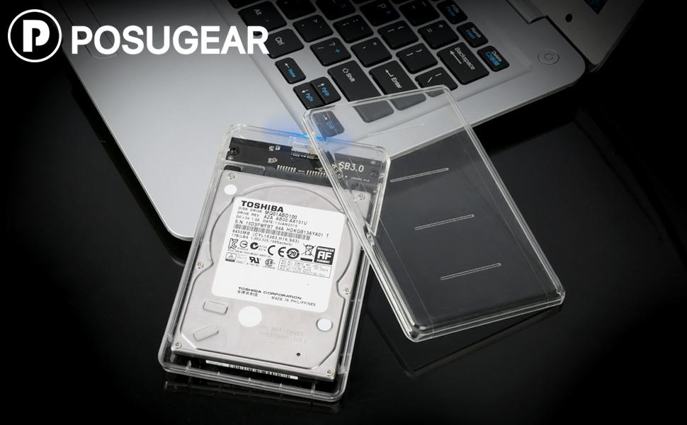 POSUGEAR Carcasa Disco Duro 2.5