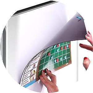 TABLA RECOMPENSAS Magnética Grande | Pizarra de tareas para Pared o Frigorífico, 43x32cm. 12 actividades, 2 rotuladores y 1 Globo | Presentación Caja ...