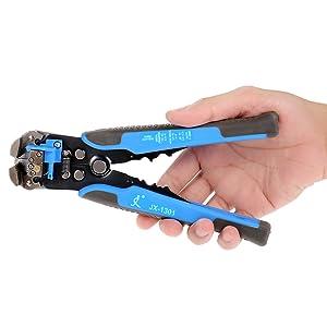 alicates pelacables para herramientas de engarzado Verde KKmoon Pelacables y cortador autom/ático multifuncional