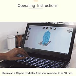KKmoon Impresora 3D Estereolitografía Grado técnico LCD Resina ...