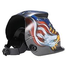 Con arnés de trinquete totalmente ajustable, que incluye una banda de sudor muy cómoda (lavable). El engranaje de la cabeza le permite colocar el casco más ...