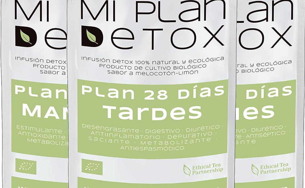 MI PLAN DETOX · Té detox 28 días · Té detox diurético· Té detox ...