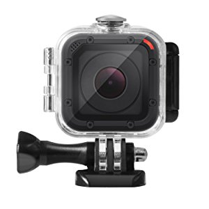 Kupton Carcasa Sumergible para GoPro Hero 5 Session Carcasa Protectora Sumergible hasta 45 m Case de Buceo Impermeable para Go Pro Hero5 Session y ...