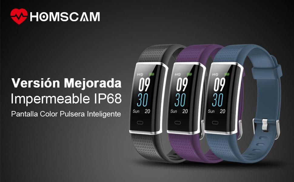 Pulsera Inteligente Pulsera Actividad Fitness reloj Podómetro Monitor de Actividad