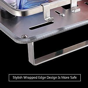 Diseño a prueba de arañazos, robusto y vallado