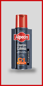 Alpecin Champú Cafeína C1, 1 x 250 ml - champú anticaída: Amazon ...