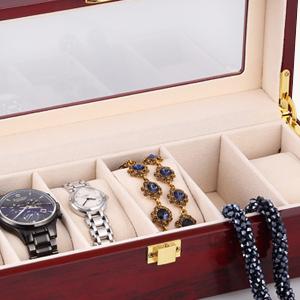 Caja para relojes para relojes y joyeros