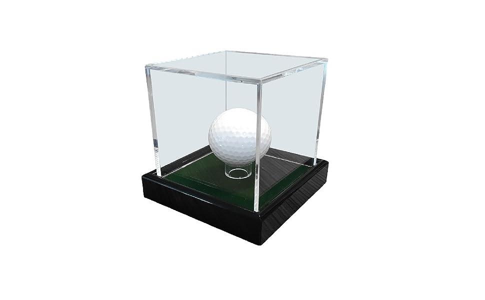 LL-Golf - Pelota de golf en vitrina de acrílico con terciopelo ...