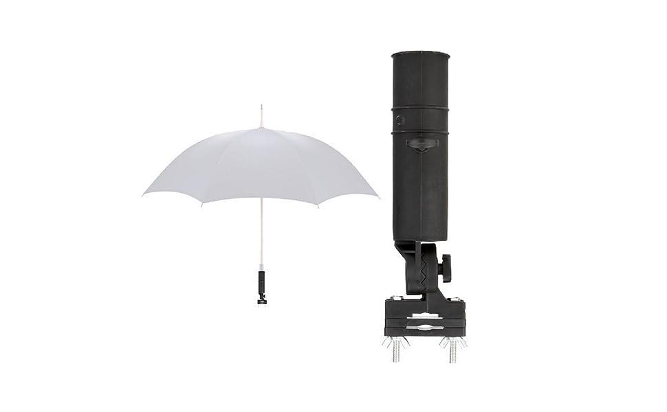 LL-Golf Universal Soporte para Paraguas para Silla/Carrito ...