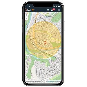 paj gps app tracker
