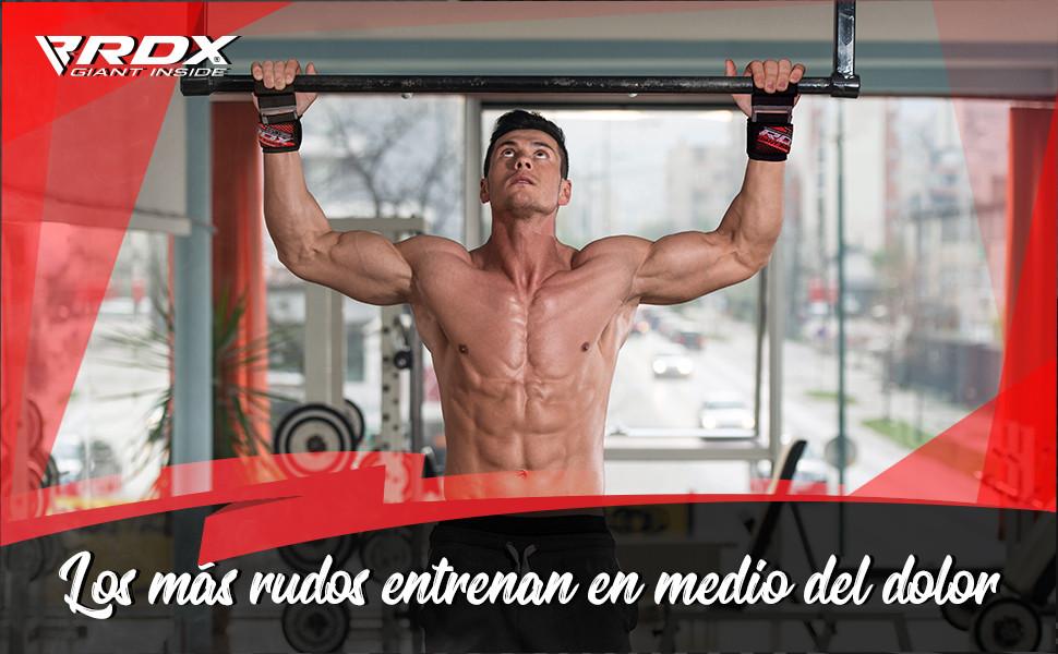 RDX Correas Levantamiento Gimnasio Muñequeras Pesas Gym Straps ...