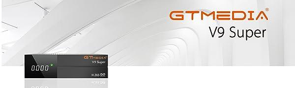 GT MEDIA V9 Super DVB-S2 Decodificador Satélite Receptor de TV ...