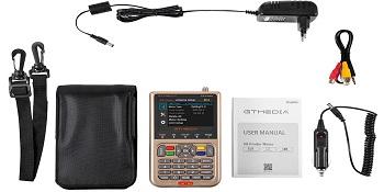 GT MEDIA V8 Satfinder Meter Localizador de señal de satélites ...
