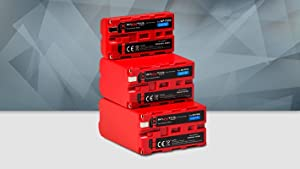 Baxxtar Pro - 2X Compatible con batería Sony NP-FW50 (1080mAh Real) con Infochip - Sistema de batería Inteligente
