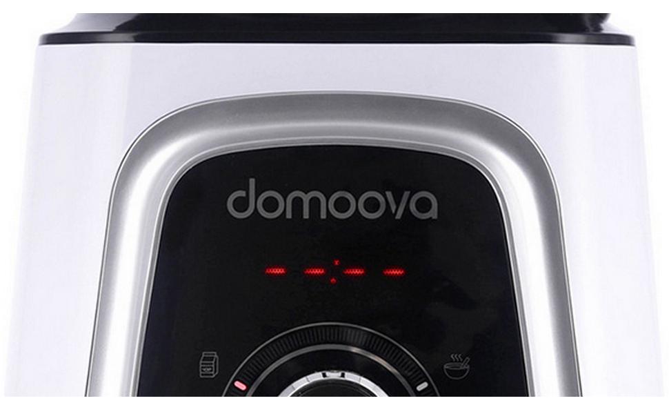 DOMOOVA Mix&Pulse - Robot batidora calentadora: Amazon.es: Hogar