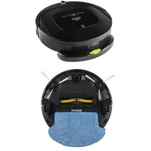 Tecnología «Pure Power»: AMIBOT Flex H2O ofrece una aspiración extrafuerte incluso sin necesidad de estar equipado con un cepillo central.