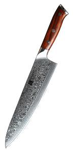 Compra XINZUO Cuchillo de Cocina 21cm de Acero Damasco ...