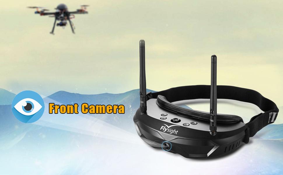 Flysight Gafas FPV Gafas de Video de 5,8 GHz Diverity Gafas de ...