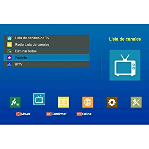 Decodificador Satelite -- GT MEDIA V8 Nova -- Receptor de TV por Satélite DVB-S/S2 Astra 19.2E con WiFi Ethernet SCART HEVC H.265 1080P Full HD: Amazon.es: Electrónica