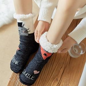 Mujer Calcetines Zapatillas de casa