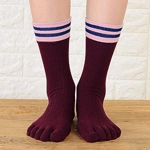 Calcetines de Dedos Mujer