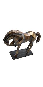 Hansmeier Ciervo Escultura de Pared - Blanco - 42 x 41 cm ...