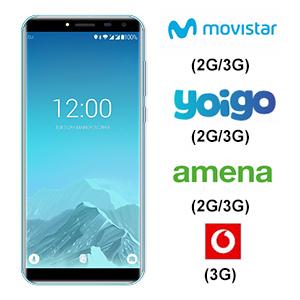 Smartphone OUKITEL C8 3G - Telefono Dual SIM Baterías de 3000mAh ...