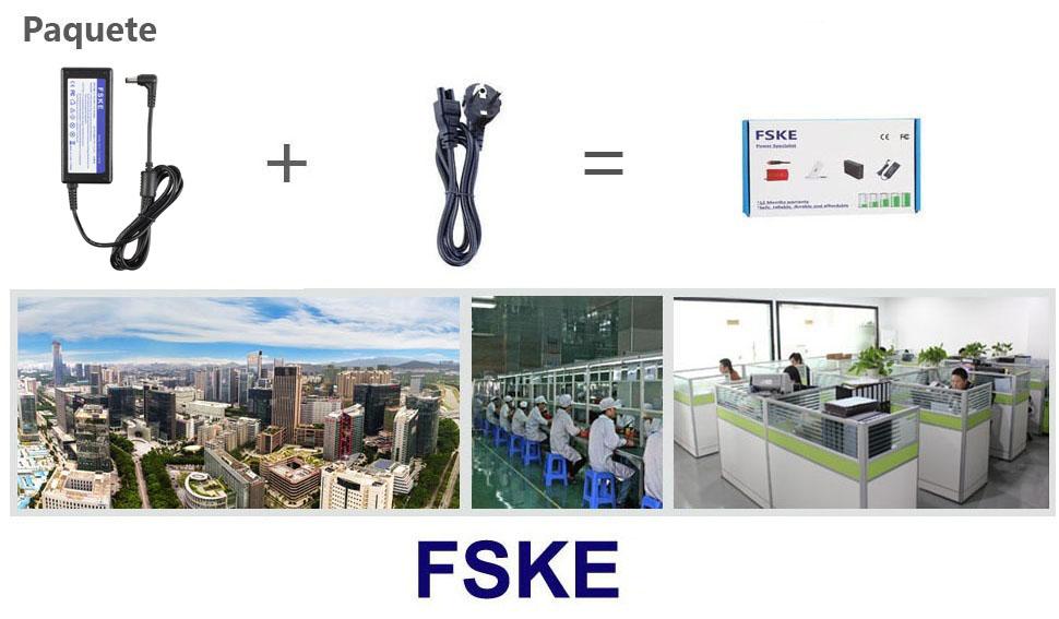FSKE 45W 19V 2.37A ADP-90CD DB Cargador del Ordenador Portátil para ASUS F555L F551C K55A X552C X555L K53S F551M F552C X551C X554L X401A X550 V85 AC ...