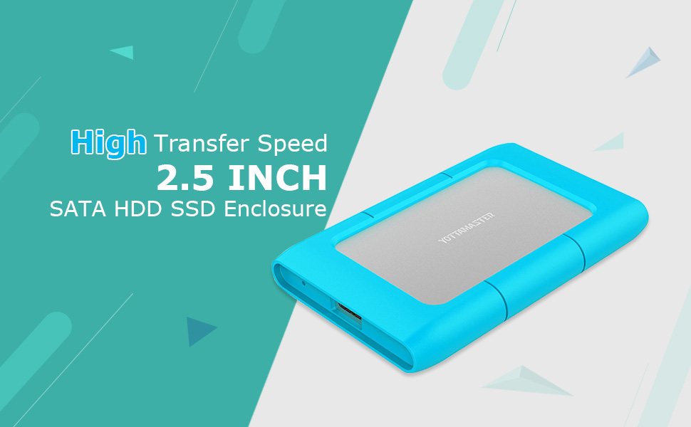 Yottamaster 2.5 Pulgadas Caja de Aluminio de Disco Duro USB 3.0 ...