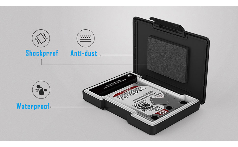 Yottamaster 2,5 Pulgadas USB 3.0 Carcasa Disco Duro Externo para ...
