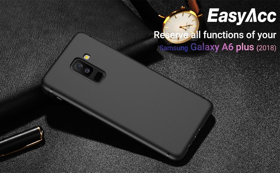 EasyAcc Funda para Samsung Galaxy A6 Plus 2018 Funda Suave TPU ...