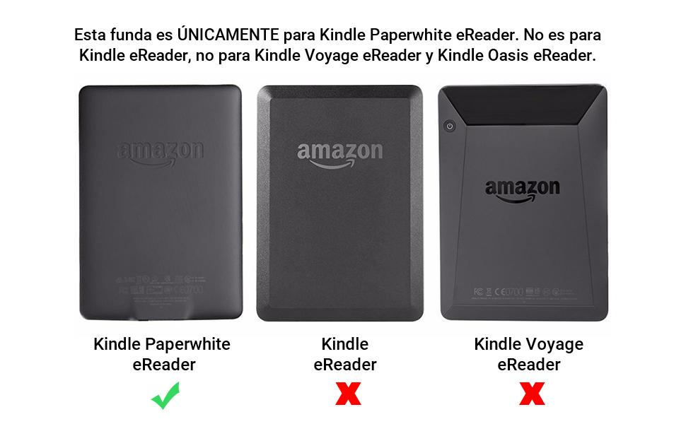EasyAcc Funda para Kindle Paperwhite Ligera con Función de Auto ...